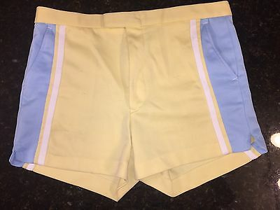Vintage Men's Polyester Tennis Golf Shorts by Youngbloods 1970's 1980's