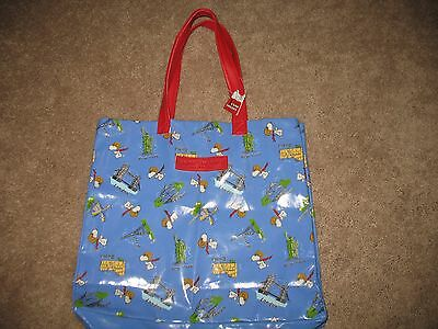 Peanuts Snoopy Tote Bag. RARE. WWI Flying Ace. CAMP SNOOPY