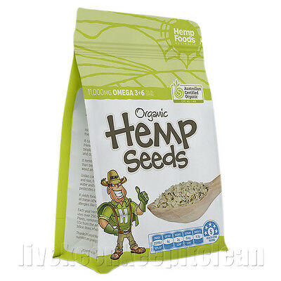 Hemp Foods Australia - Certified Organic Hemp Seeds - 114g