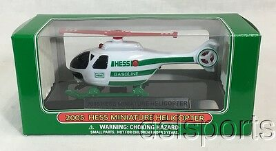 2005 Hess Toy Miniature Helicopter In Original Box