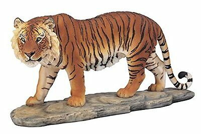 "12"" Bengal Tiger Statue Figurine Safari Wildlife Wild Cat Animal Figure"
