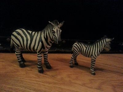 Schleich Zebra - adult and foal
