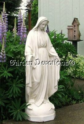 36'' White VIRGIN MARY Indoor Outdoor Garden Yard Statue NEW OUR LADY OF GRACE