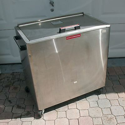 Chattanooga Hydrocollator M-4 Heating Unit Stainless Steel Project Minor Work