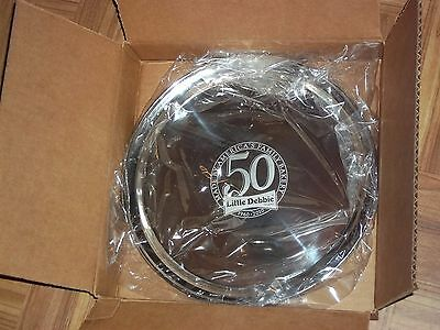 LITTLE DEBBIE 50th ANNIVERSARY STAINLESS STEEL SERVING PLATTER  *NEW*