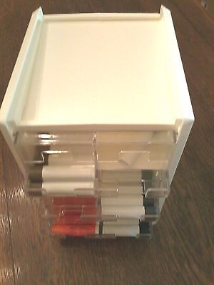 Lip Balm Counter Display/Dispenser, 6 Cell, Holds up to 288 Tubes, NEW USA