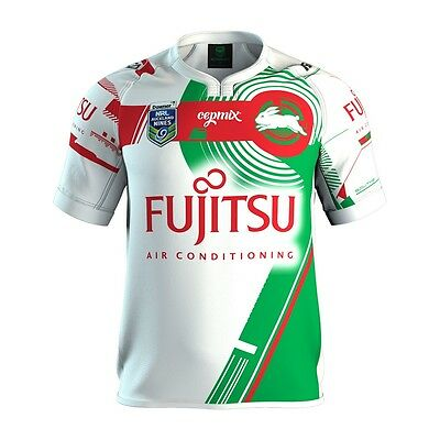 Rabbitohs NRL 2017 ISC Auckland Nines 9s Jersey Adults & Kids Sizes! In Stock!