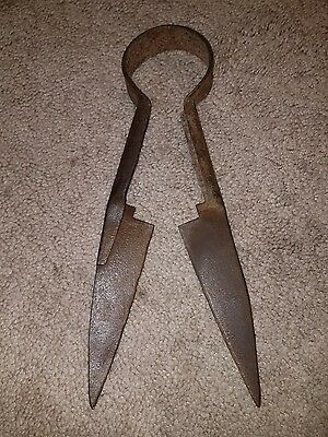 Vintage Sheep Shears Clippers Trimmer Unknown Name