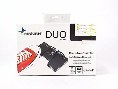 DUO 2-Pedal Bluetooth Page Turner