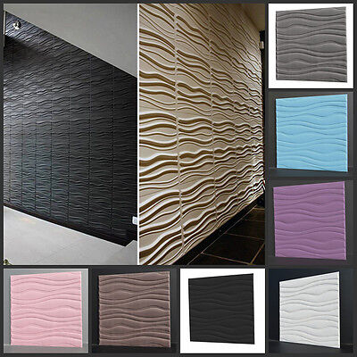 3D Removable Wallpaper Home Room Decor Vinyl Wall Decal Stickers Mural 30x30cm
