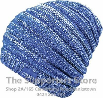 Auckland Blues Super Rugby Slouche Knit Winter Beanie! BNWT's!