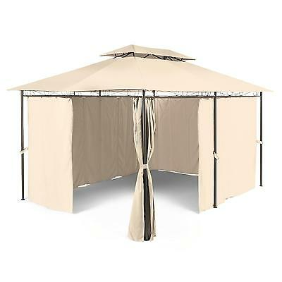 Outdoor Garden Party Tent  Marquee Gazebo Terrace Polyester Steel Frame 3 X 4 M
