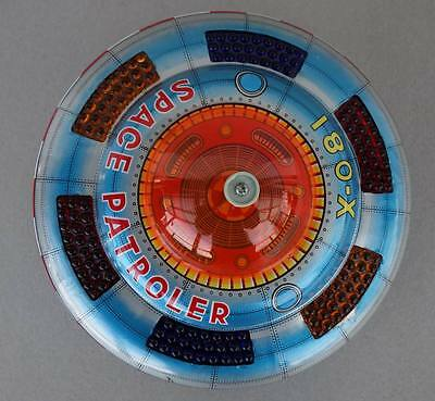1970 UFO Space Patroler X-081  Made in Japan K.O. Flying Saucer Raumschiff