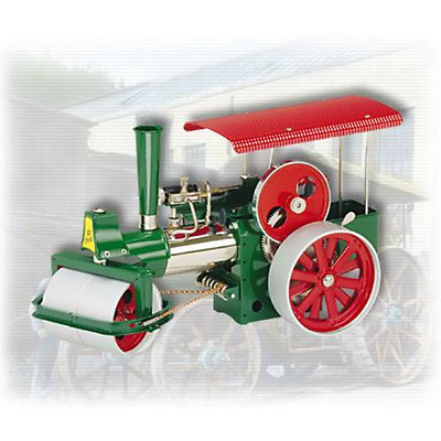 Wilesco D395 Steamroller-Old Smokey with 230cc with RC Excellent Gift 00395