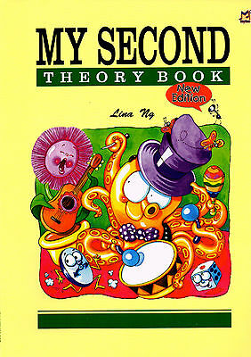 MY SECOND THEORY BOOK By Lina Ng 2nd Music Book MPM300202 - New Edition!