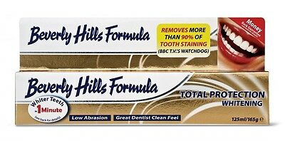 Beverly Hills GUM & TOTAL PROTECTION WHITENING Anti-Plaque Toothpaste XL 165g