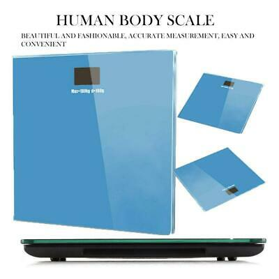 180Kg Digital Electronic LCD Bathroom Weighing Scale Glass New Weight Scales