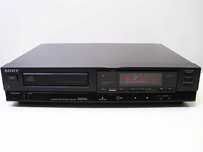 Vintage Pioneer CDP-550 CD Player Dual D/A Converter - Made In Japan