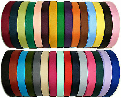 Top Quality Grosgrain Ribbon 20Mm, 5 Mtrs, Assorted Cols, Crafts Etc, Art 0072