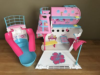Barbie Sisters Cruise Ship / Boat with Pool Toy / Playset **WD19