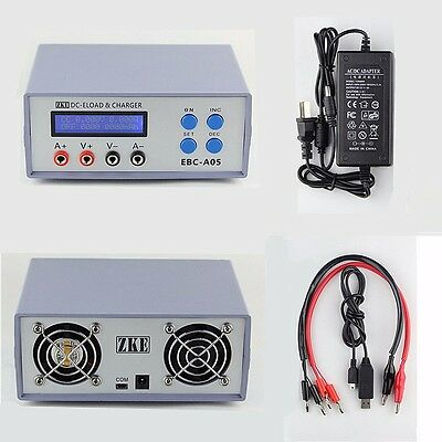 New EBC-A05 Battery Capacity Gauge Power Bank Tester DC Electronic Load Charger