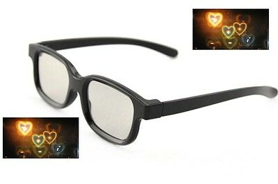Diffraction Glasses - Heart Pattern - Rave Party Glasses