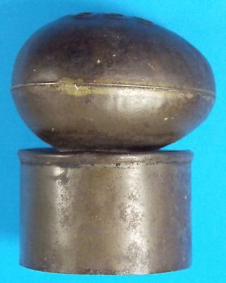 """Very Rare Antique  """"Egg Baking Powder"""" Tin Biscuit Cutter Great Condition!"""
