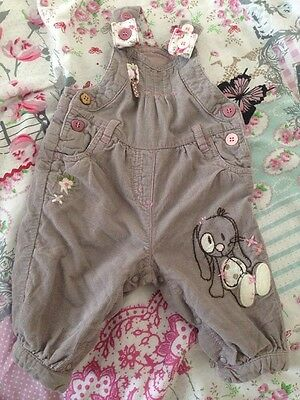 Girls Next Dungarees Up To 3 Months