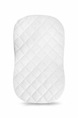 iLuvBamboo Waterproof Bamboo Bassinet Mattress Pad Cover To Fit an Hour Glass...
