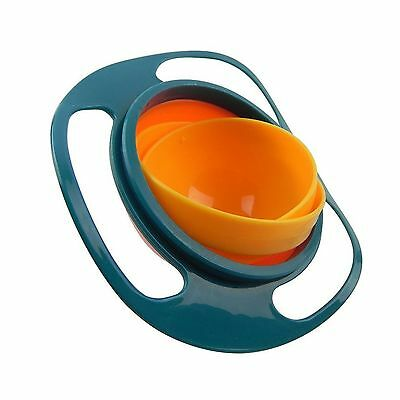 Pro Universal Gyro Bowl | Revolutionary Anti Spill Bowl For Kids | Smooth 360...
