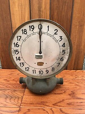 Rare Antique Neptune Water Meter Steam Punk Brass