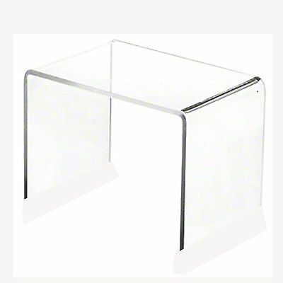 Clear Acrylic Display Risers x 20