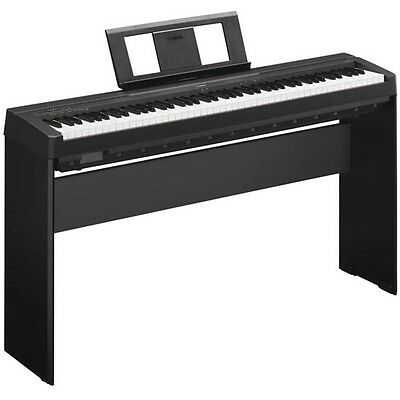 Yamaha P45BPK Digital Piano with Stand
