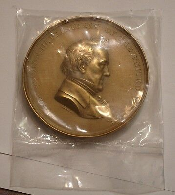 "President JAMES BUCHANAN 3"" Bronze MEDAL GEM U S MINT"