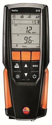 Testo 310 Residential Combustion Flue Gas Analyzer Kit. Model: 0563 3100