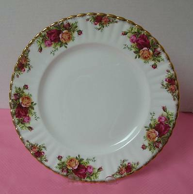 "OLD COUNTRY ROSES Royal Albert 10 3/8"" DINNER PLATE (s) China England VGC"