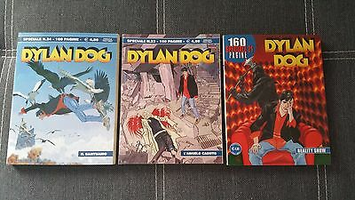 Dylan Dog Speciale 21 23 24 - Reality Show, Il santuario, L'angelo caduto