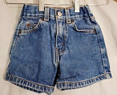 Levi Strauss Jean Shorts for children, Toddler, Baby. Size: 2T 24M
