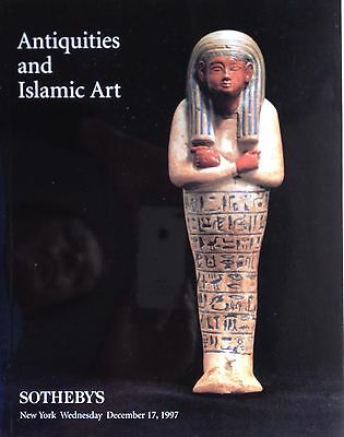 Sotheby's Auction Catalog Antiquities and Islamic Art New York 1997 Sale 7073