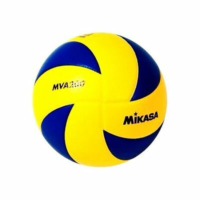 Volleyball Mikasa Fivb Surface Dimpled Mva200 Official 2012 Olympic Play Ball