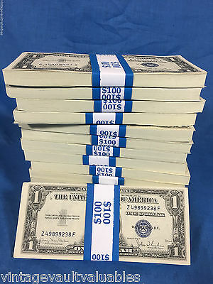 $1 Silver Certificates Old United States Currency Collection Paper Money Hoard $