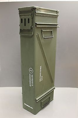 120MM Ammo Can 2 Cartridge, M783 for Mortars M120/M121, M933A1, Steel