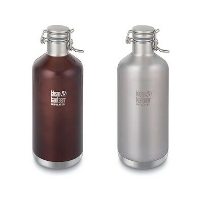 Klean Kanteen Growler - Vacuum Insulated - Swing Lok cap Stainless Steel bottle