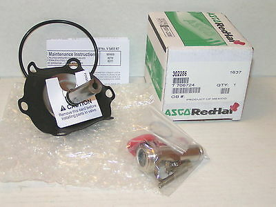 Asco 302286 Solenoid Valve Rebuild Kit for 8210 8211 Valves New in Box