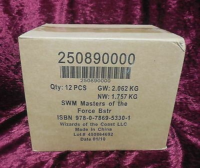 Star Wars Miniatures Dark Times Booster CASE 12x Boosters Sealed WOTC Need PIC