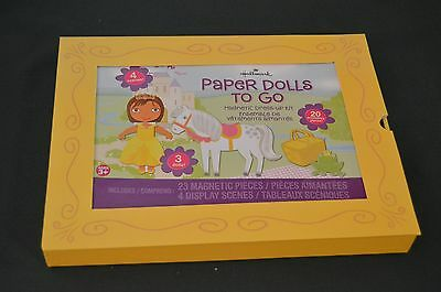 Hallmark Paper dolls to go Magnetic Dress-Up Kit NEW IN ORIGINAL BOX