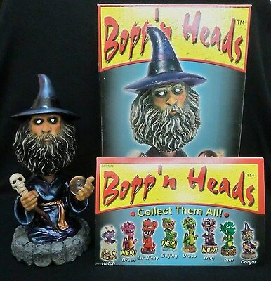 Bopp 'N Heads Conjur Wizard Figure - Beautifully Colored & Detailed!! New in Box