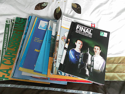 Fa Vase Final Programme Collection 1975 - 2012 Choose From List