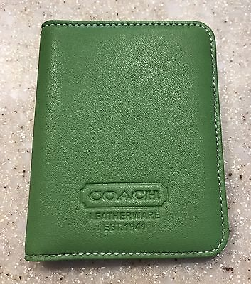 Coach Business Card Credit Card Leather Case EXCELLENT CONDITION