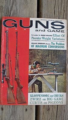 Vintage Guns and Game magazine April 1964